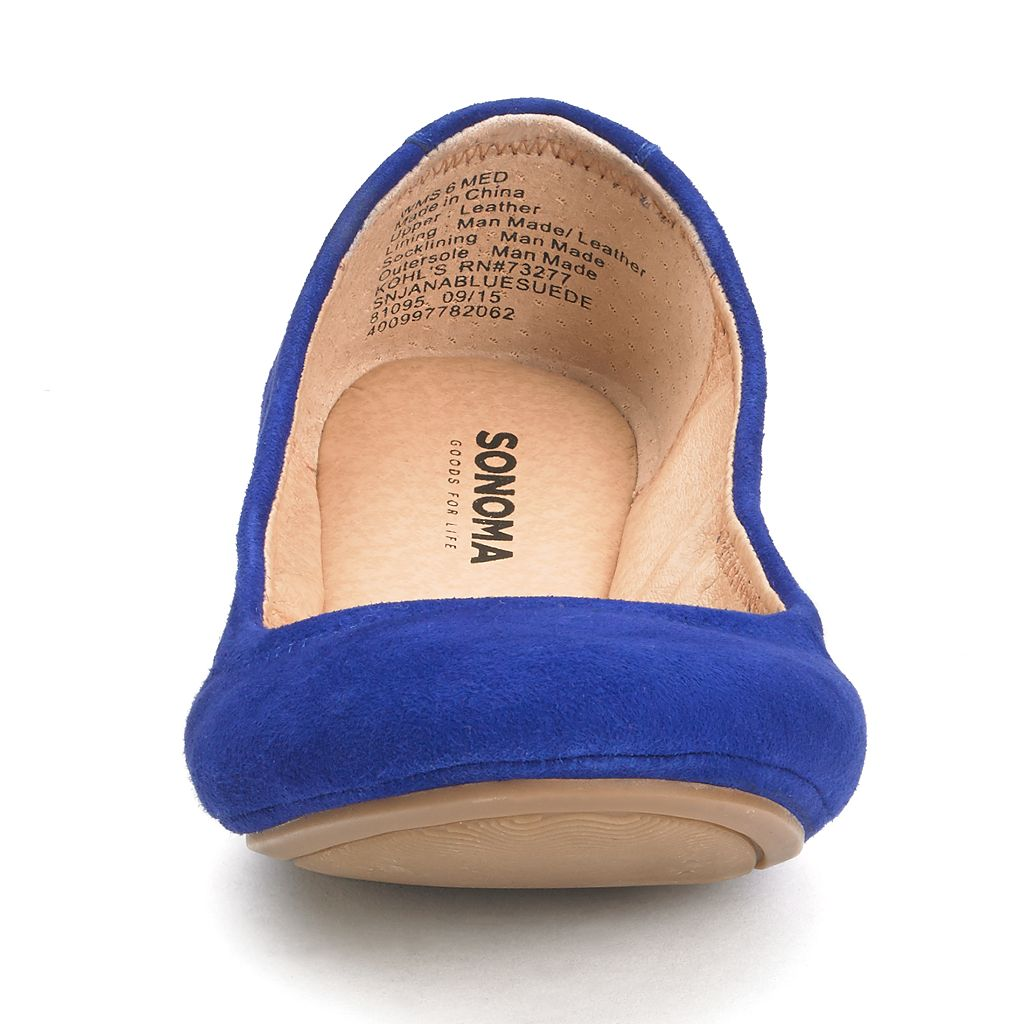 SONOMA Goods for Life™ Women's Scrunch Ballet Flats