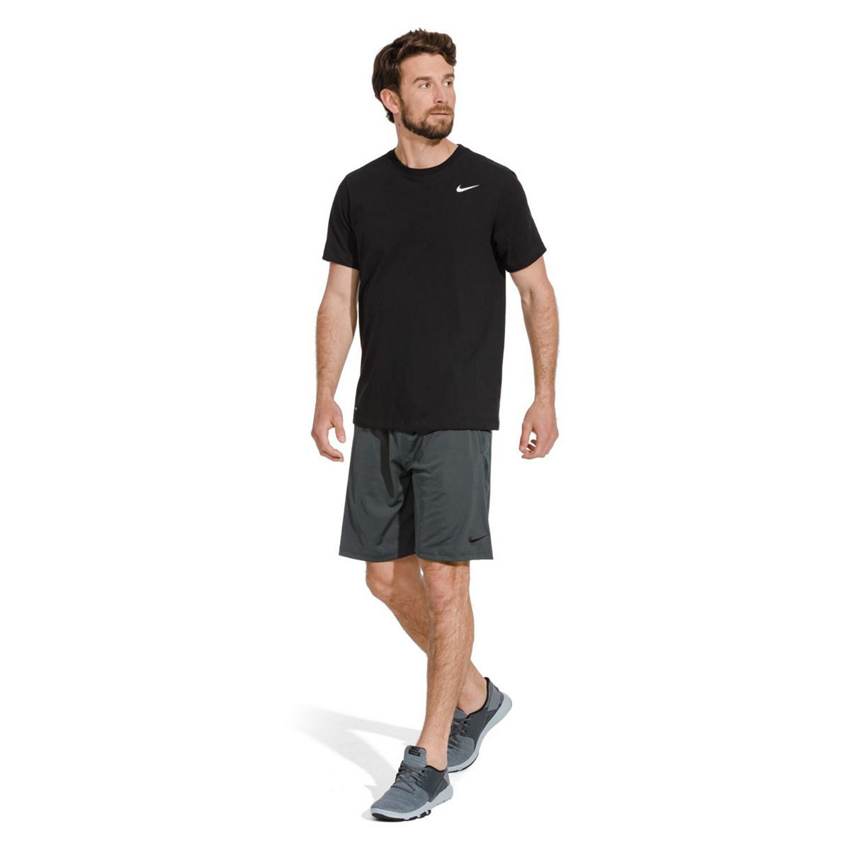 Men's Nike Hybrid Shorts Black Dark Gray g7hQR