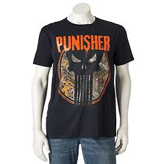 Men's Marvel The Punisher Realtree Tee