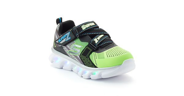 skechers s lights hypno flash boys 39 light up shoes. Black Bedroom Furniture Sets. Home Design Ideas