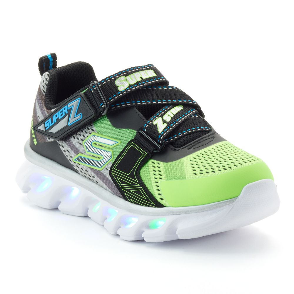 Skechers S Lights Hypno Flash Boys Light Up Shoes