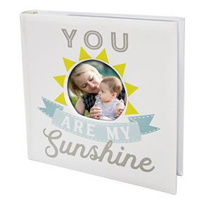 "New View ""My Sunshine"" Faux-Leather Photo Album"