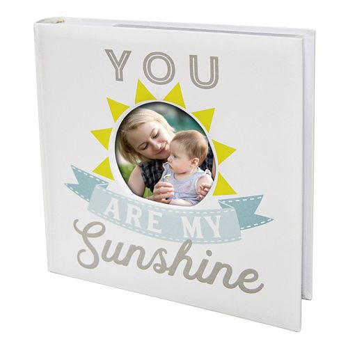 """New View """"My Sunshine"""" Faux-Leather Photo Album"""