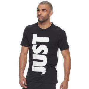 Men's Nike Colorblock Just Do It Tee