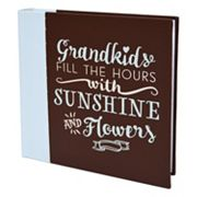 New View 'Grandkids' Faux-Leather Photo Album