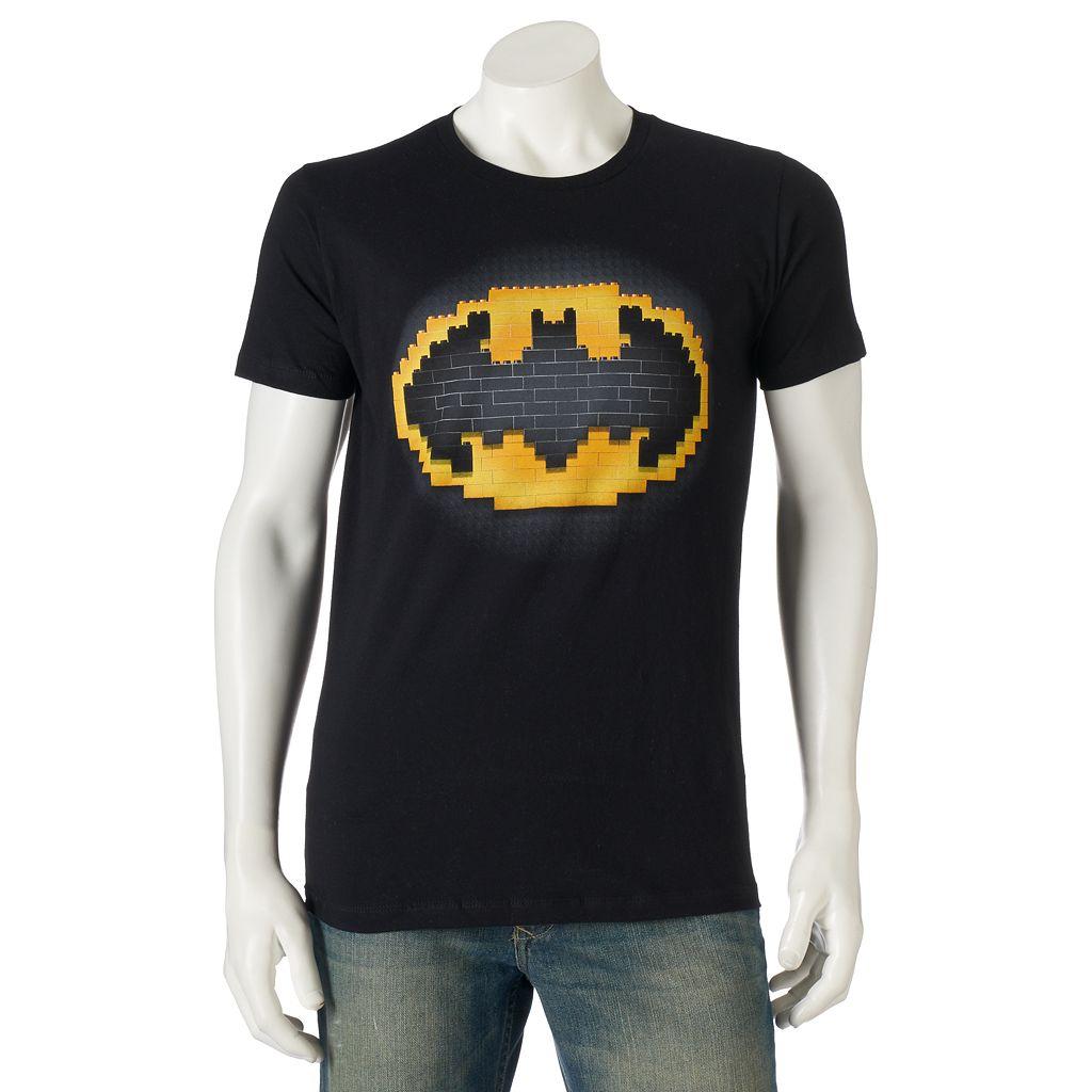 Men's DC Comics Batman Lego Logo Tee