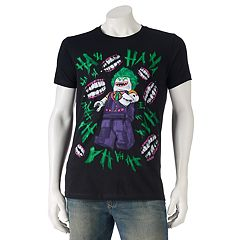 Men's DC Comics The Lego Batman Movie Joker Tee