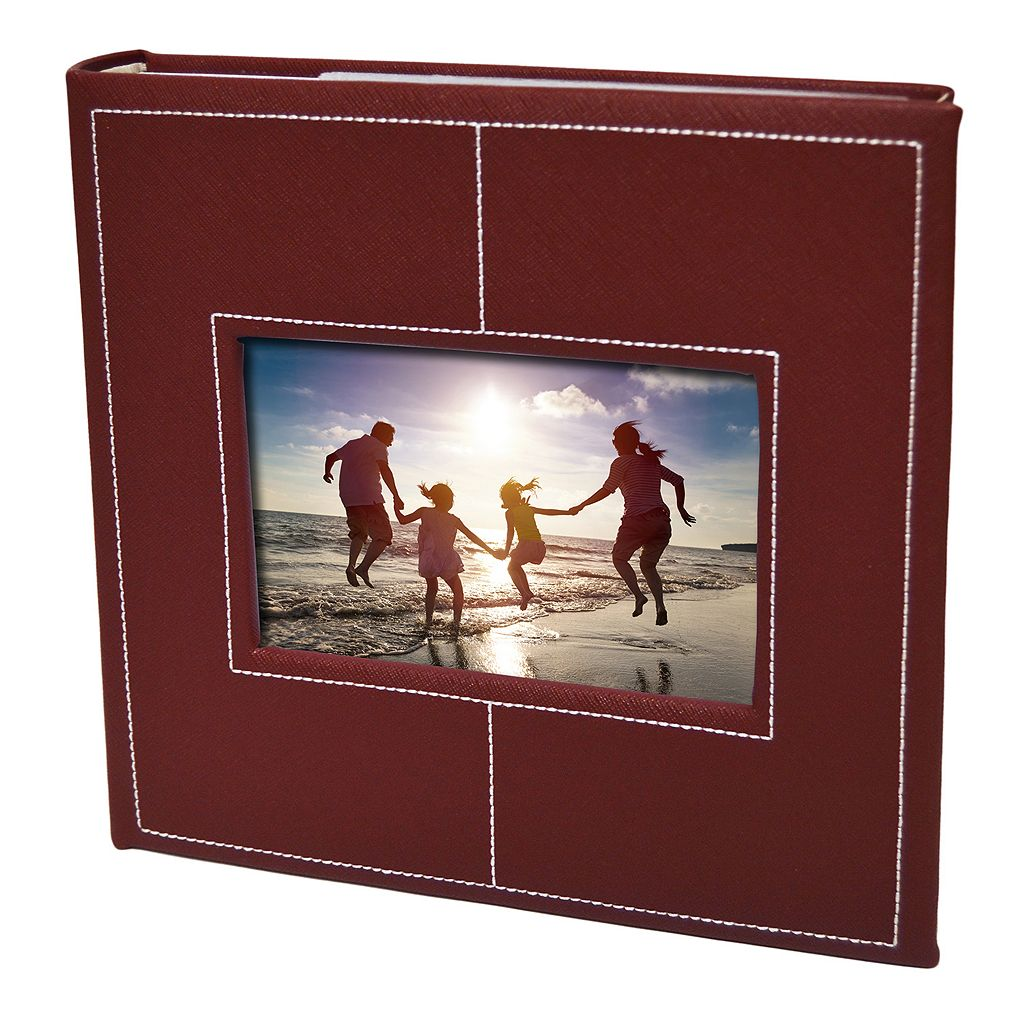 New View Faux-Leather Photo Album