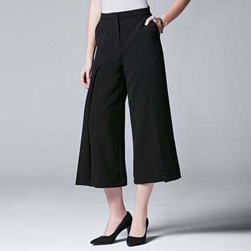 Women's Simply Vera Vera Wang Pleated Culottes