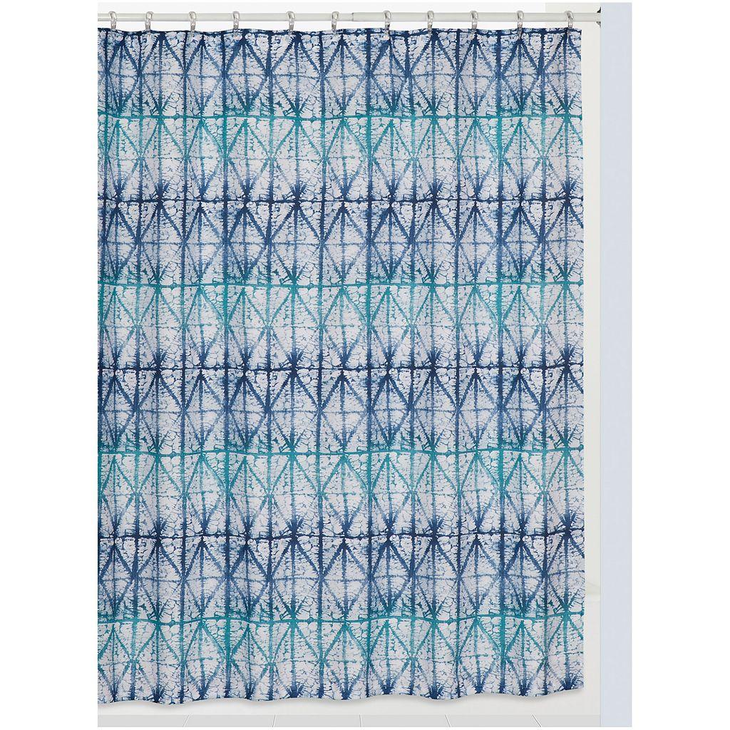 Creative Bath Shibori Shower Curtain
