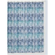 Creative Bath Shibori Shower Curtain