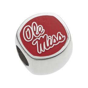 LogoArtSterling Silver Ole Miss Rebels Bead