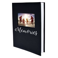 New View 'Memories' Faux-Leather Photo Album