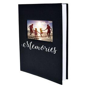 "New View ""Memories"" Faux-Leather Photo Album"