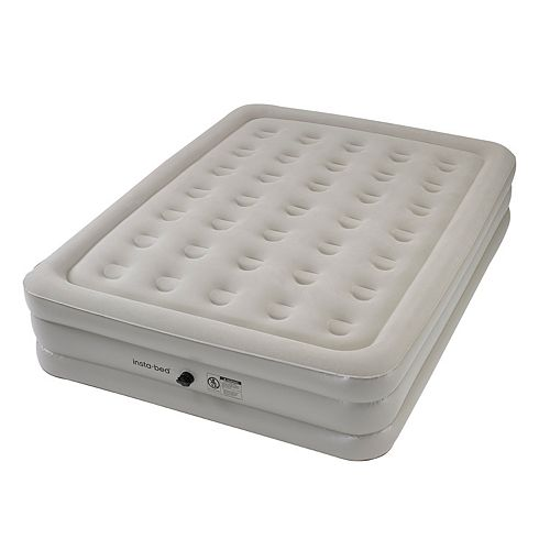 Insta-Bed 16-in. Queen Airbed & External AC Pump