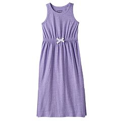 Girls 4-10 Jumping Beans® Split Hem Snow Nep Maxi Dress