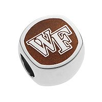 LogoArt Sterling Silver Wake Forest Demon Deacons Bead