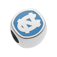 LogoArt Sterling Silver North Carolina Tar Heels Bead