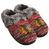 Women's Forever Collectibles Chicago Blackhawks Peak Slide Slippers