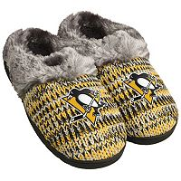 Women's Forever Collectibles Pittsburgh Penguins Peak Slide Slippers
