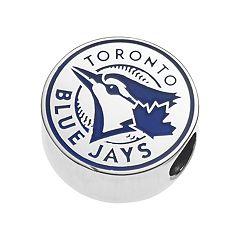 LogoArtSterling Silver Toronto Blue Jays Bead