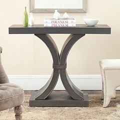 Safavieh Distressed Black Console Table