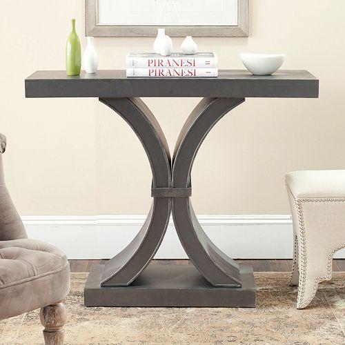 Safavieh Distressed Black Console Table