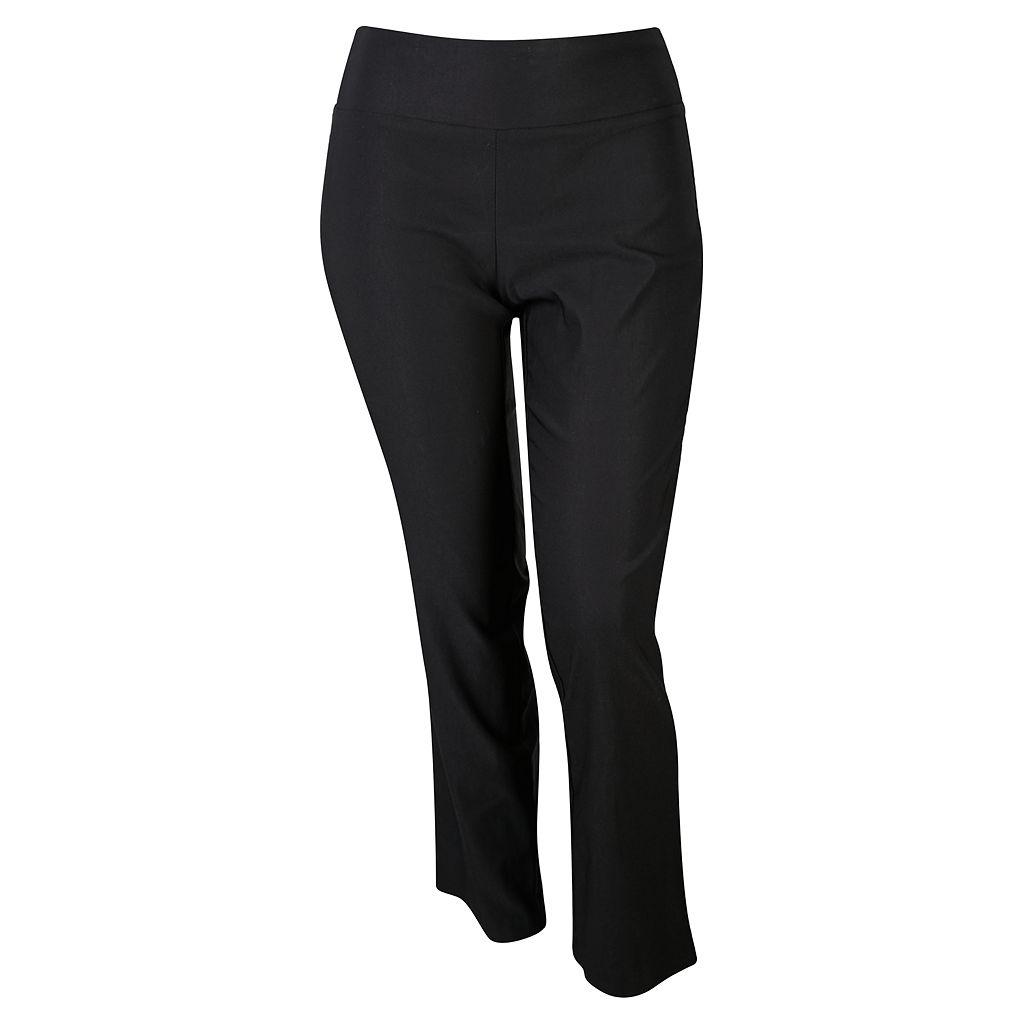 Juniors' Plus Size IZ Byer California Pull-On Bootcut Pants