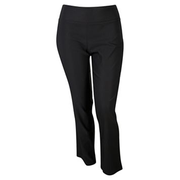 Juniors' Plus Size IZ Byer Pull-On Bootcut Pants
