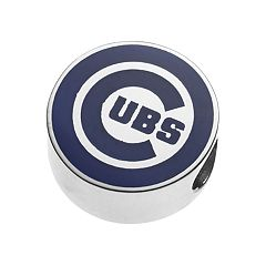 LogoArtSterling Silver Chicago Cubs Bead
