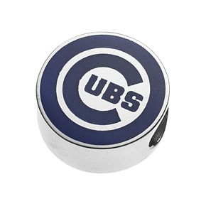 LogoArt Sterling Silver Chicago Cubs Bead
