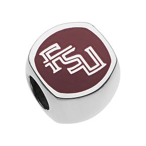 LogoArt Sterling Silver Florida State Seminoles Bead