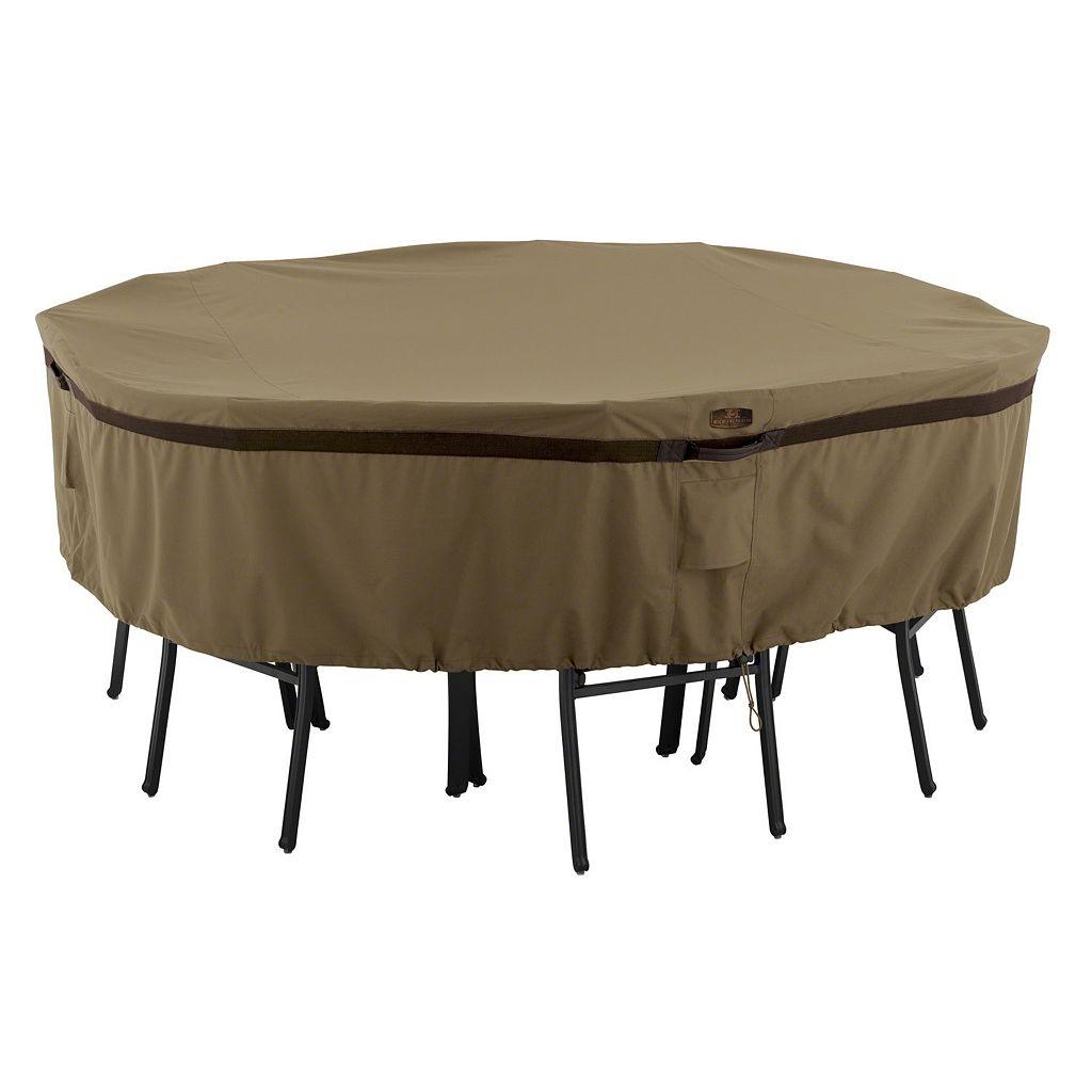 Hickory Medium Round Patio Table & Chairs Cover