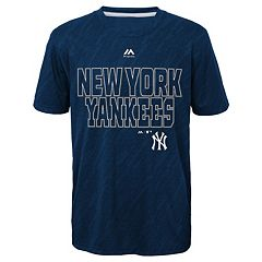 Boys 8-20 Majestic New York Yankees Geo Fuse Sublimated Cool Base Tee