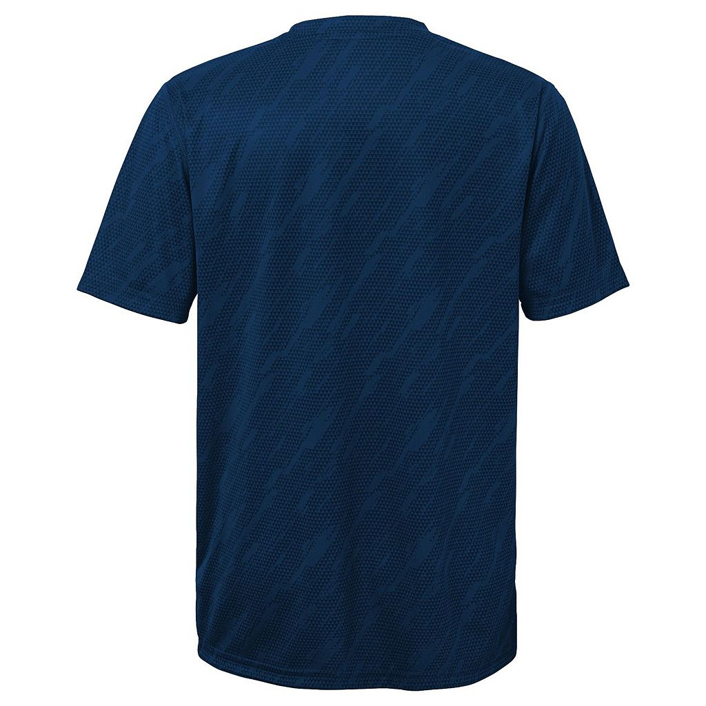 Boys 8-20 Majestic San Diego Padres Geo Fuse Sublimated Cool Base Tee
