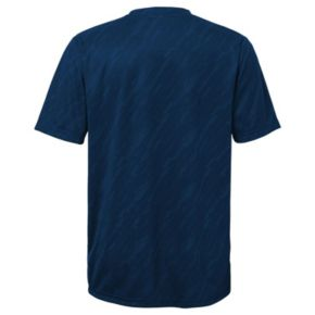 Boys 8-20 Majestic Detroit Tigers Geo Fuse Sublimated Cool Base Tee