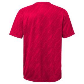 Boys 8-20 Majestic Cincinnati Reds Geo Fuse Sublimated Cool Base Tee