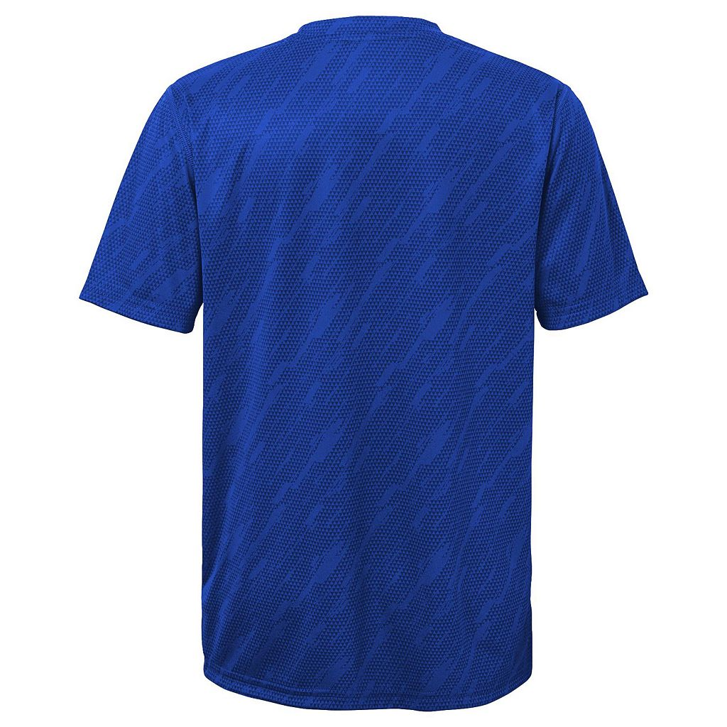 Boys 8-20 Majestic Los Angeles Dodgers Geo Fuse Sublimated Cool Base Tee