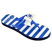 Women's College Edition Duke Blue Devils Bow Flip-Flops