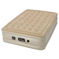 Serta Raised Airbed & Never Flat Pump