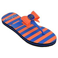 Women's College Edition Florida Gators Bow Flip-Flops