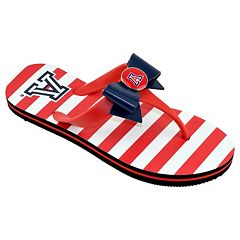 Women's College Edition Arizona Wildcats Bow Flip-Flops