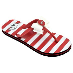 Women's College Edition BYU ... Cougars Bow Flip-Flops ZM73q