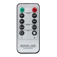 Manor Lane LED Shimmer String Lights Remote Control