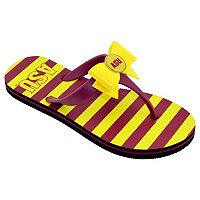Women's College Edition Arizona State Sun Devils Bow Flip-Flops