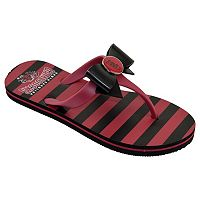 Women's College Edition South Carolina Gamecocks Bow Flip-Flops