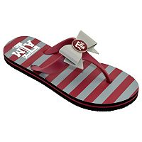 Women's College Edition Texas A&M Aggies Bow Flip-Flops