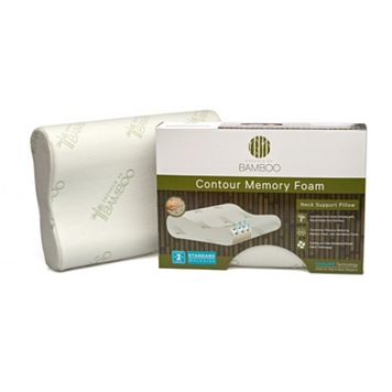 Essence of Bamboo Contour Memory Foam Pillow