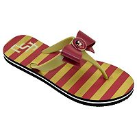 Women's College Edition Florida State Seminoles Bow Flip-Flops