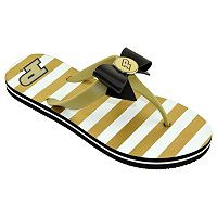Women's College Edition Purdue Boilermakers Bow Flip-Flops
